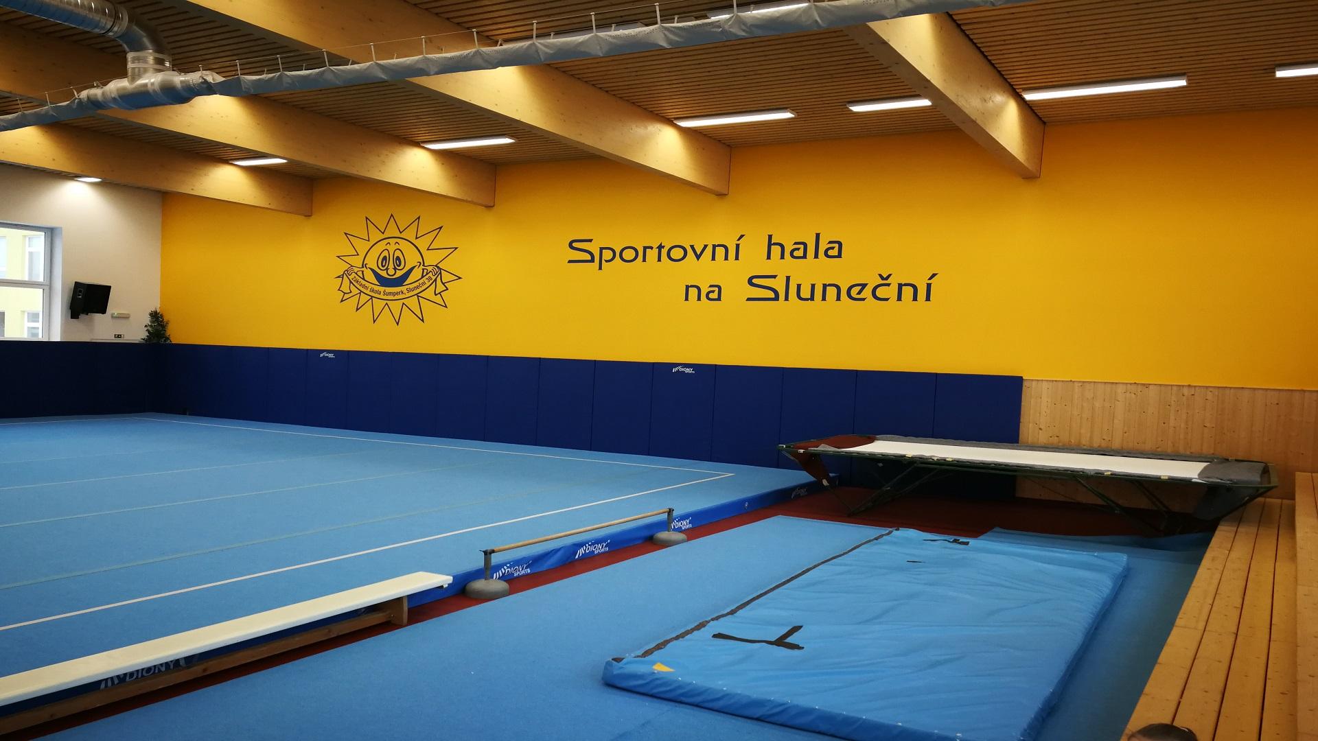 Gymnastická tělocvična