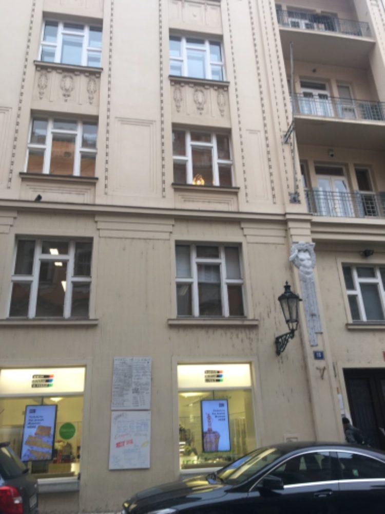 Budova Židovského muzea v Praze